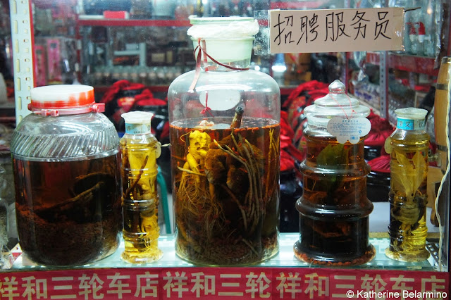 Traditional Chinese Medicine Preserved Items Beijing Food Tour China
