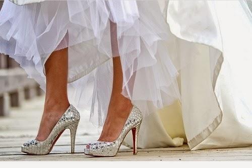 lindos y originales ideas de zapatos de novias para el dia mas