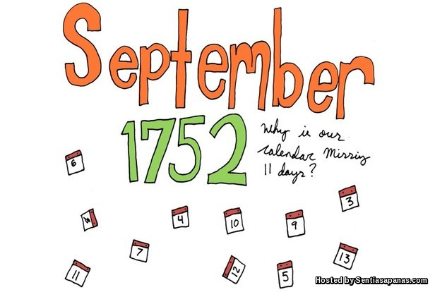 11 September 1752 Mystery
