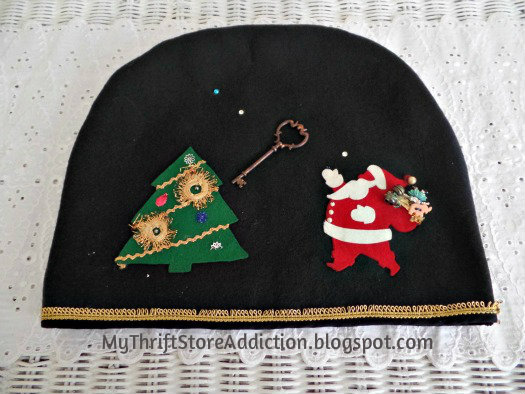 Vintage Christmas toaster cover