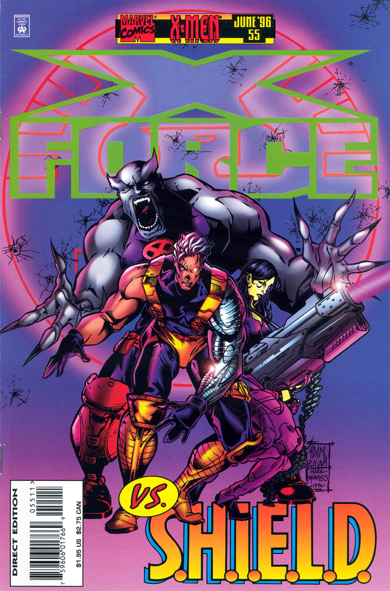 X-Force (1991) 55 Page 1