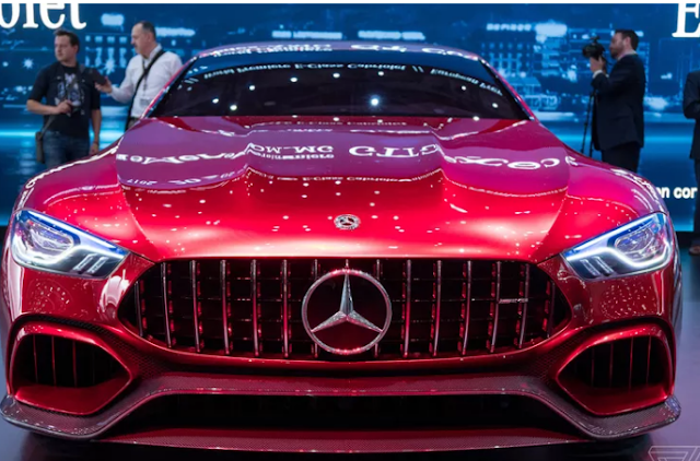 Up close with the Mercedes-AMG GT Concept Technology