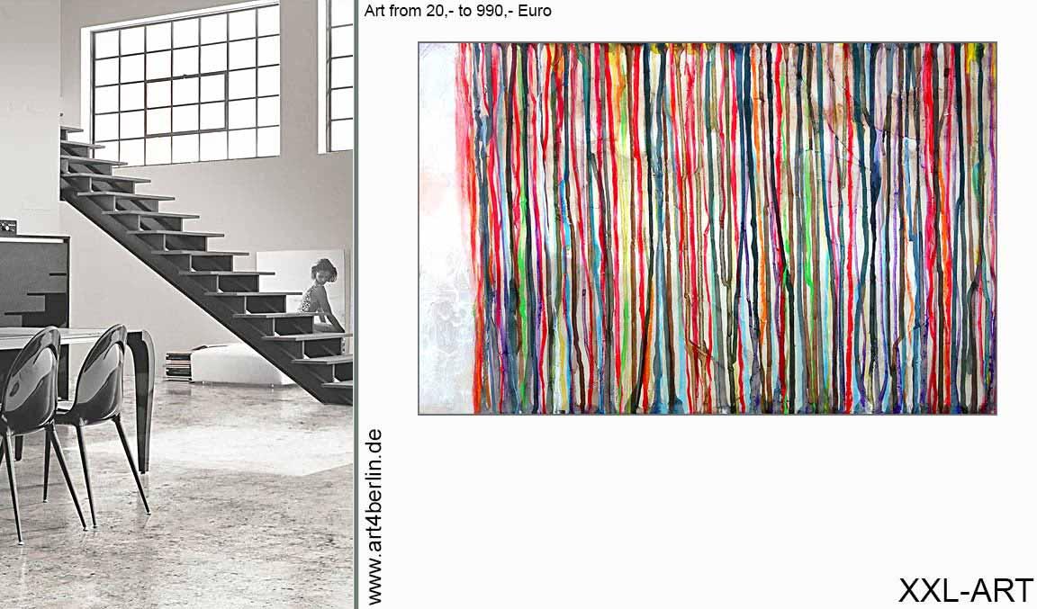 Schöne Kunst, Moderne Malerei, Hochwertige Acrylbilder Aus Berlin!  Expertentipp: Bei Kunstkauf Auf