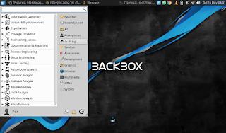 hacking dengan backbox linux