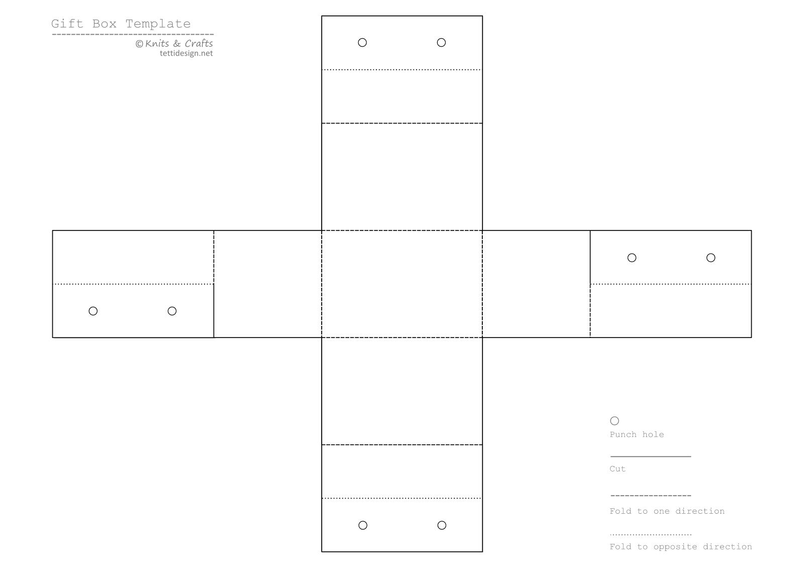 Paper Box Template. 14 paper box templates free pdf documents ...