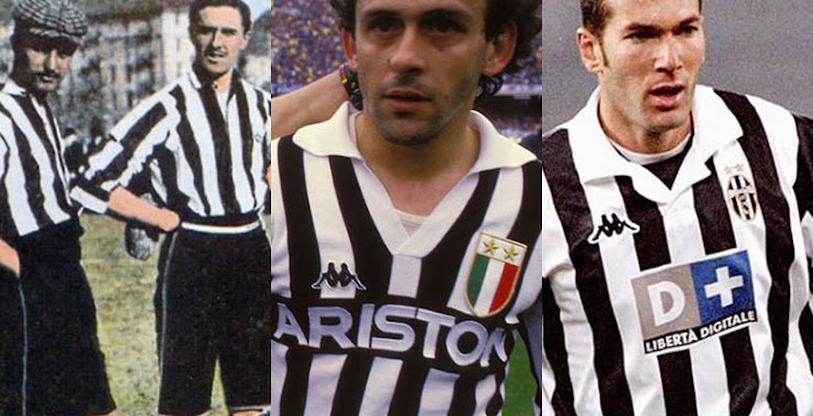 1847be4b81d What s a better time to look at the history of Juventus  home kit