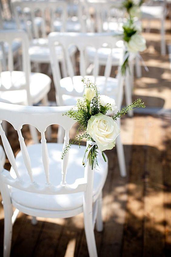 Beautiful Wedding Chair Decor Ideas For