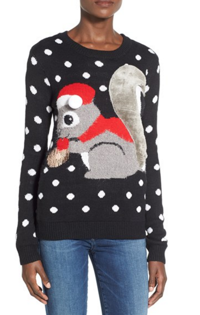 My Superficial Endeavors: Cute Ugly Christmas Sweater!