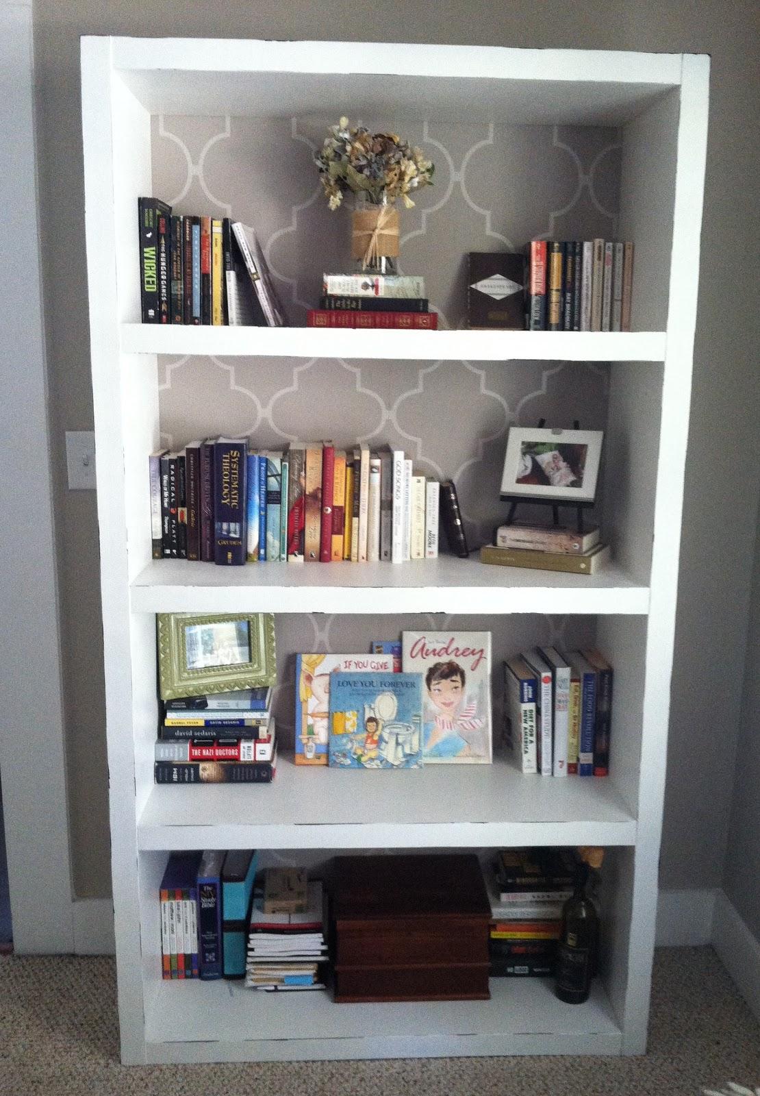 Use Your Words Little Girl Diy Bookshelf Makeover