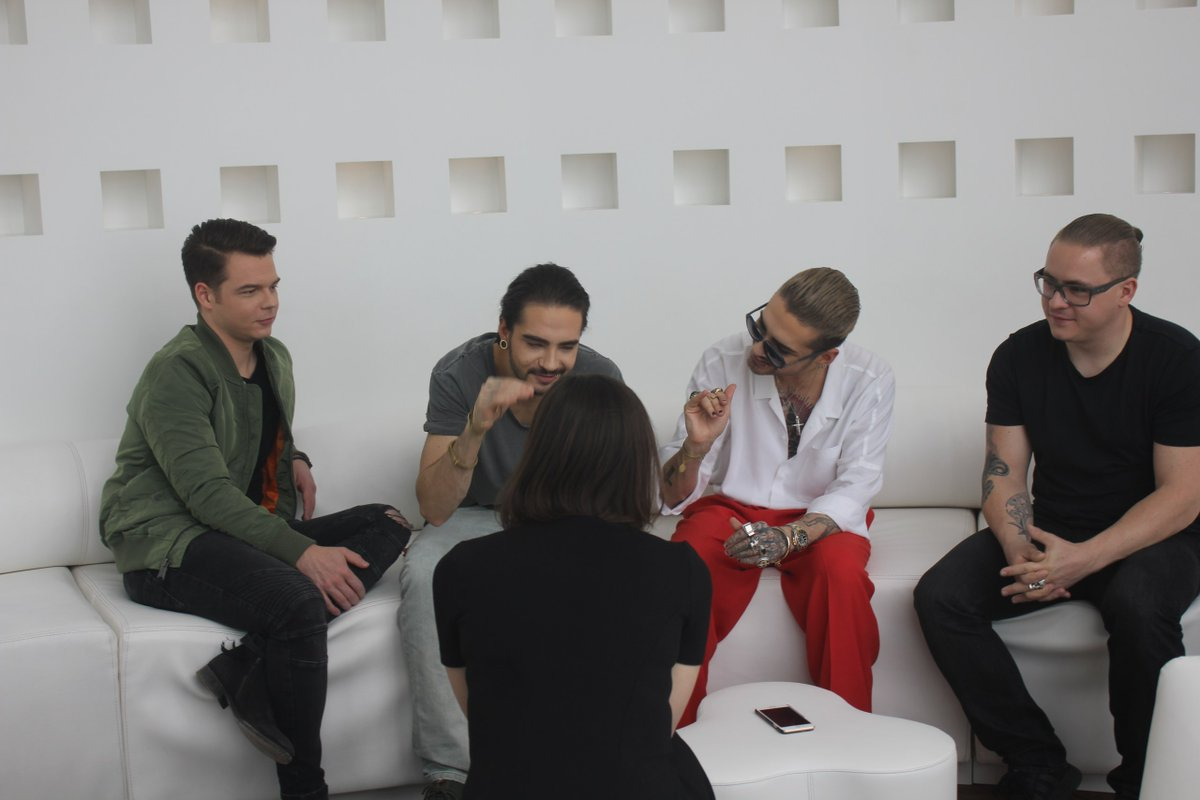 New hq pics tokio hotel interview with helena for Tokio hotel