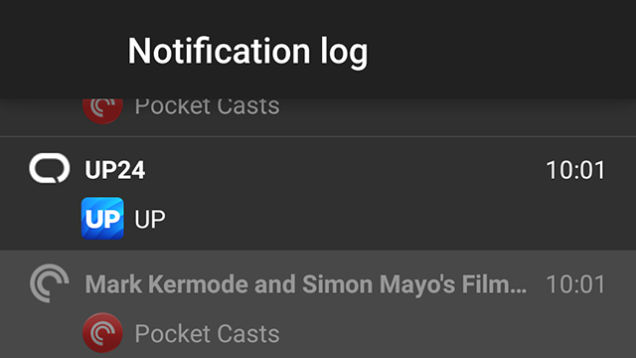 how to clear page notifications