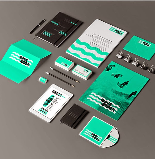 Corporate Stationery: 30 Colorful And Creative Stationery Designs For Corporate