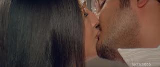 Meghna Naidu Himanshu Malik Hot Smooch In Movie Rain 3