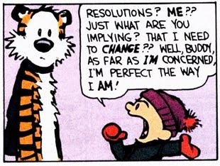New Year's Resolutions For 2018...