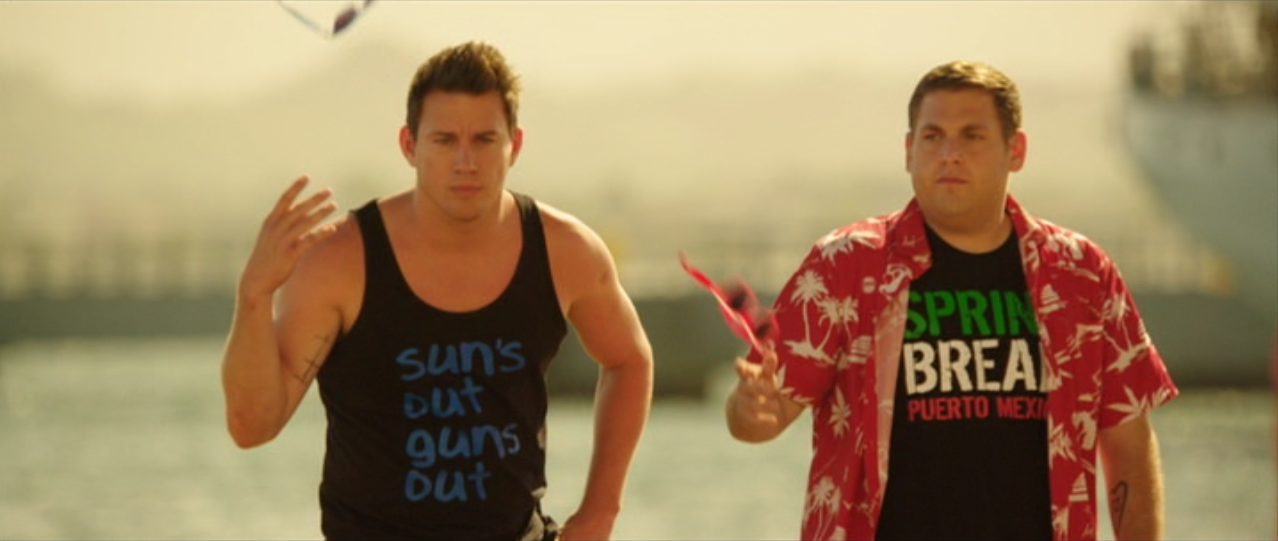 Channing Tatum, Jonah Hill in 22 Jump Street