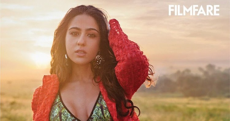 Sara Ali Khan Features In The Cover Of Filmfare Magazine