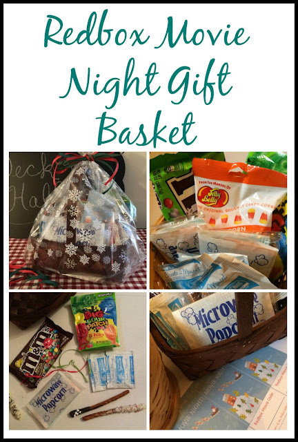 If you need a quick neighbor gift, make this easy Redbox Movie Night basket.