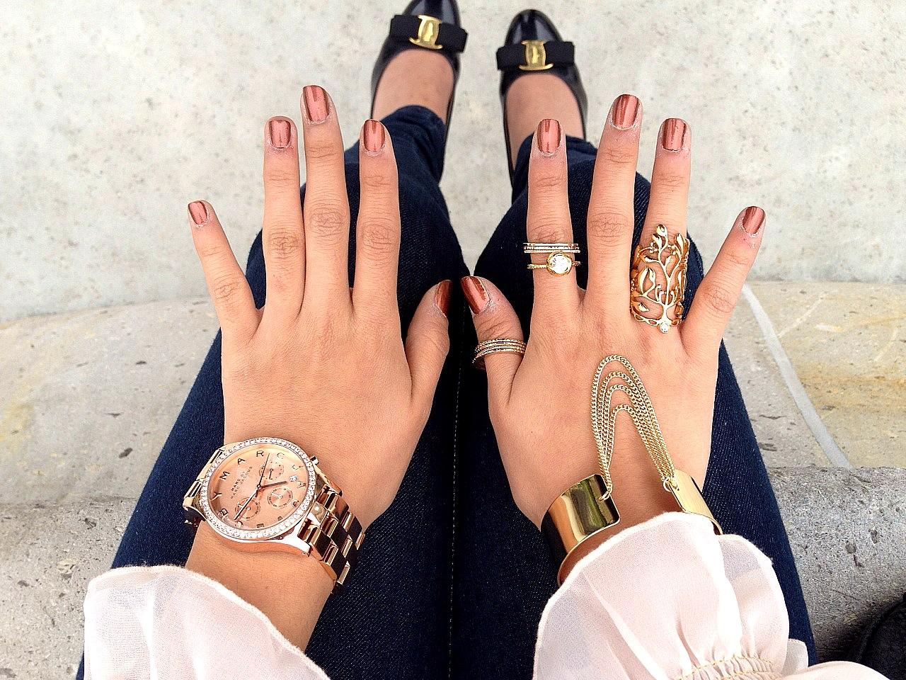 thrift gold chain