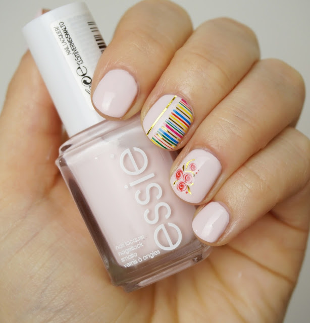 Essie - Fiji (2015) Nagellack, Nail Art, Water Decals