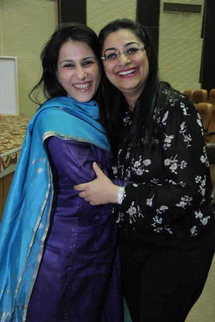 Ruchi Sahni with Dr. Tanya Buckshee