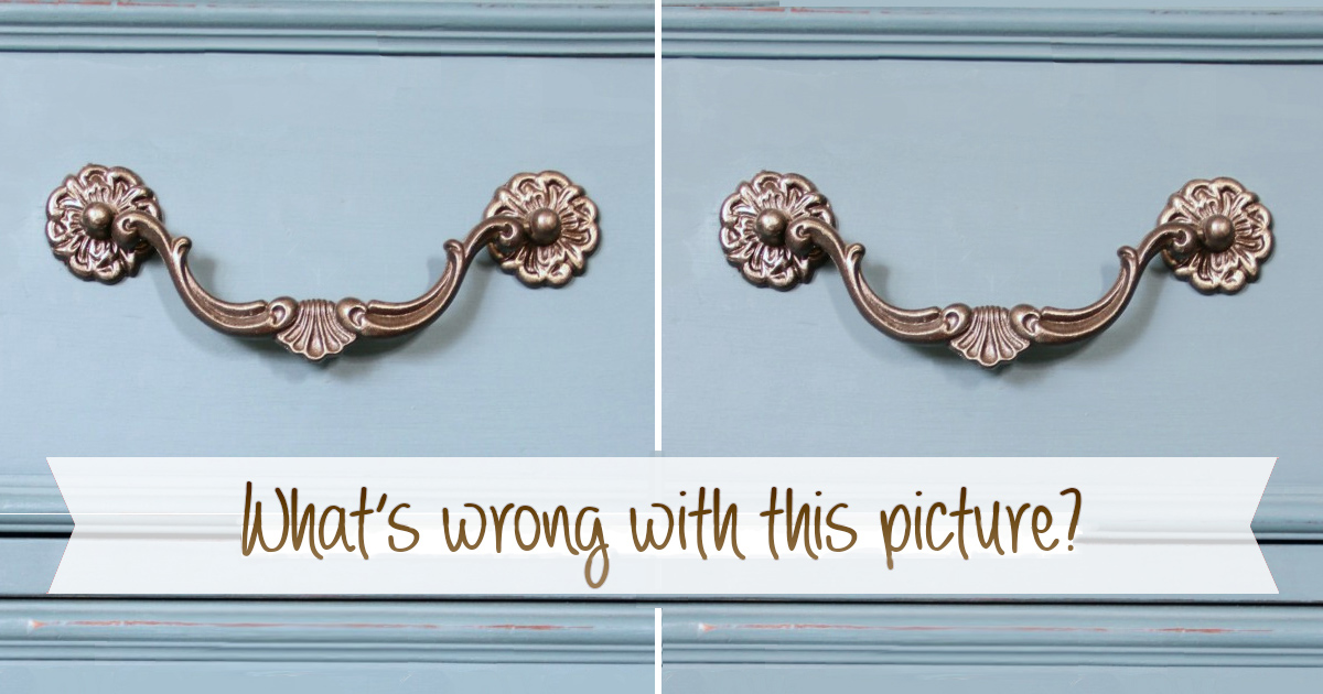 Missing Furniture Hardware: DIY Fix