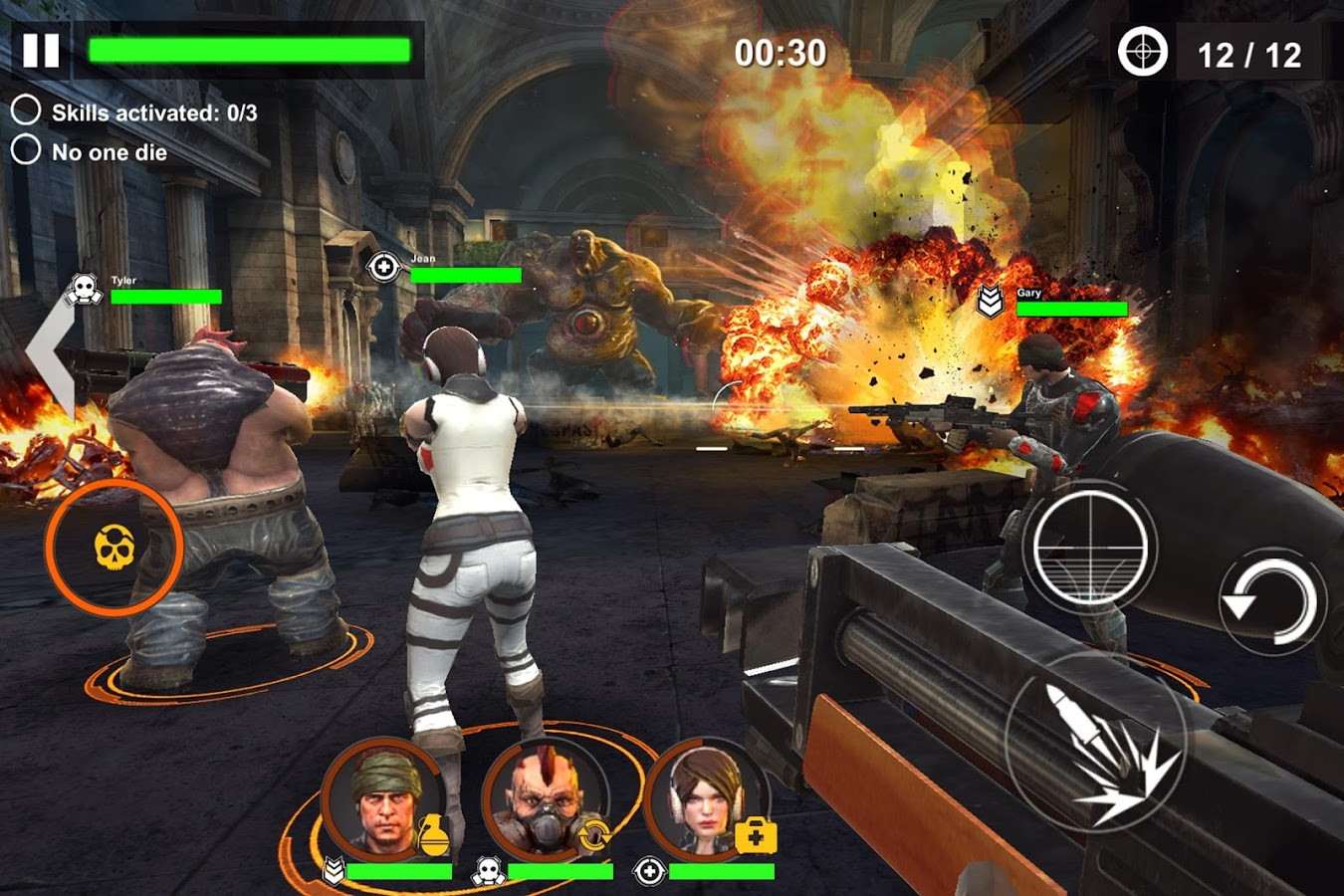 Download DEAD WARFARE Zombie MOD APK