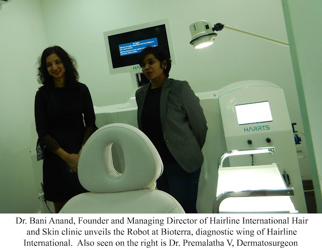 Now, a Robot Will Assist a Surgeon in Hair Transplant at Hairline International
