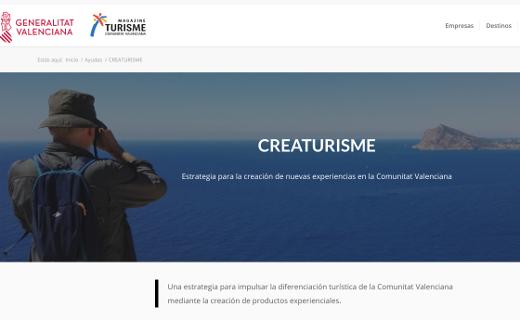 Turisme comercializa más de 450 experiencias listas para consumir por el visitante a través de la plataforma CreaTurisme