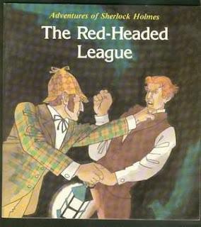 """قصة """"عصبة ذوي الشعر الأحمر """"the Red-Headed League المقررة علي الصف الثاني الاعدادي تيرم ثان"""