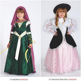 Disfraces de Princesa para Niñas
