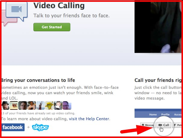 can you video chat on facebook