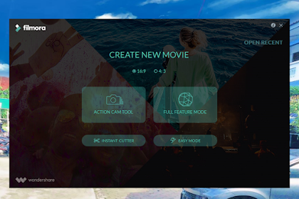Cara mudah edit vidio dengan Wondershare Filmora