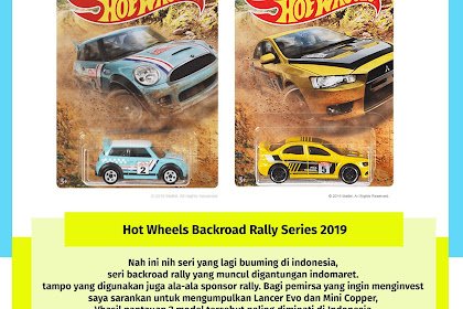 Hot Wheels Backroad Rally Series 2019