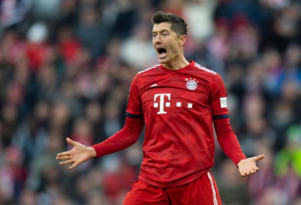 Robert Lewandowski Bayern Munich star