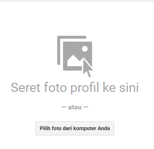 cara merubah foto profil di akun google