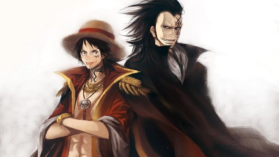 Luffy, Pirate King, Monkey D Dragon, One Piece, 4K, #6.109