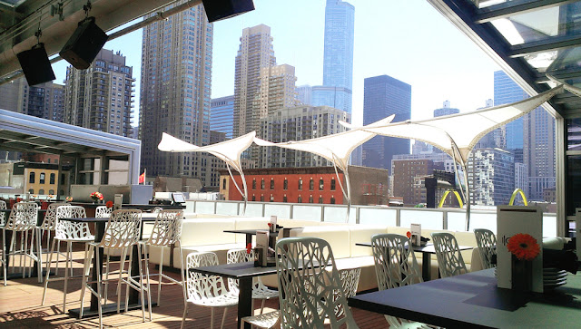 Hotel Wedding Venues Chicago The Godfrey Hotel Chicago Rooftop