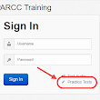 Accessing the PARCC Practice Tests