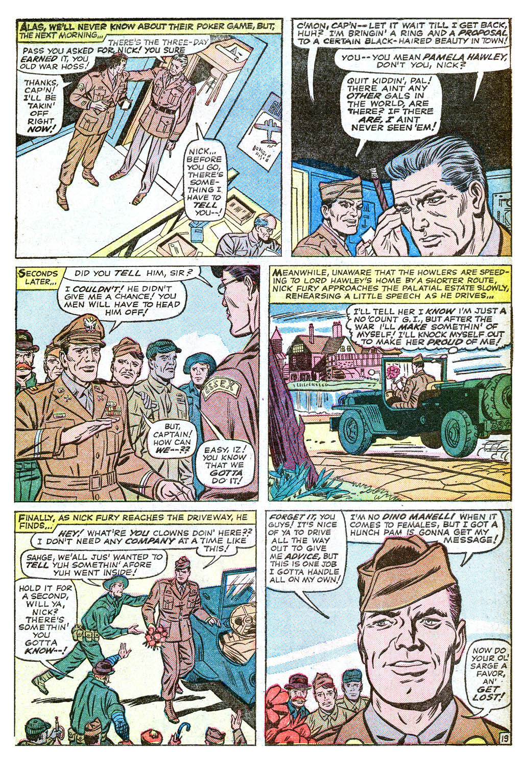 Read online Sgt. Fury comic -  Issue #18 - 27