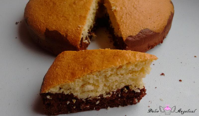 Receta de bizcocho de chocolate y coco