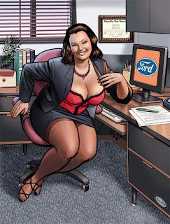 caricaturas chicas gordas