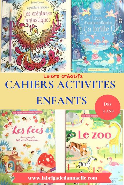 cahier activite enfant 3 ans
