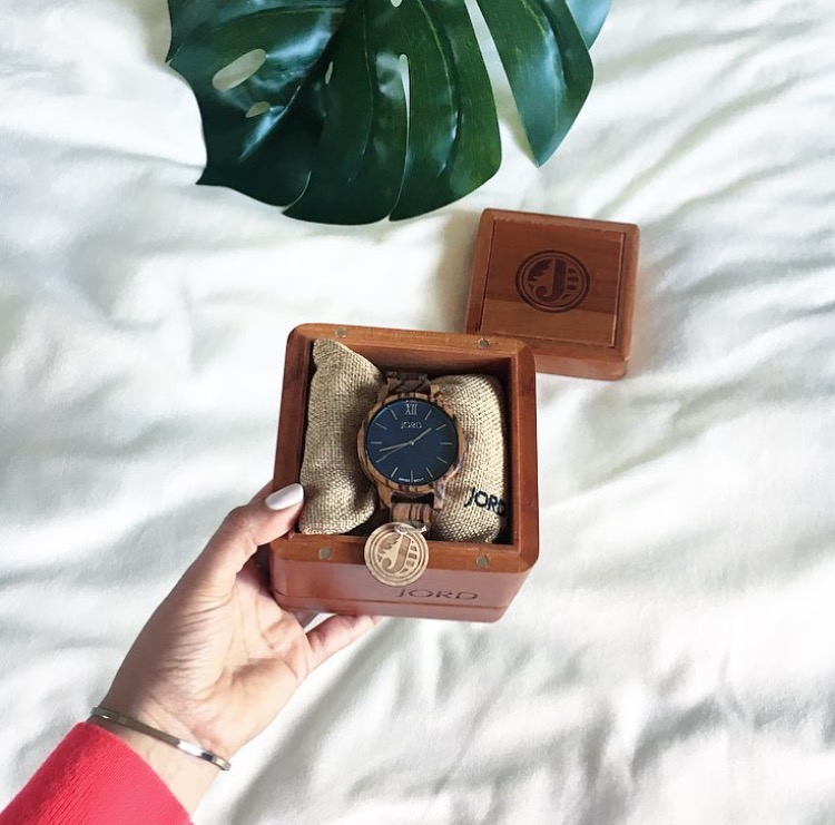 spring styling, watch, woodwatch, Jord, men's watch, women's watch