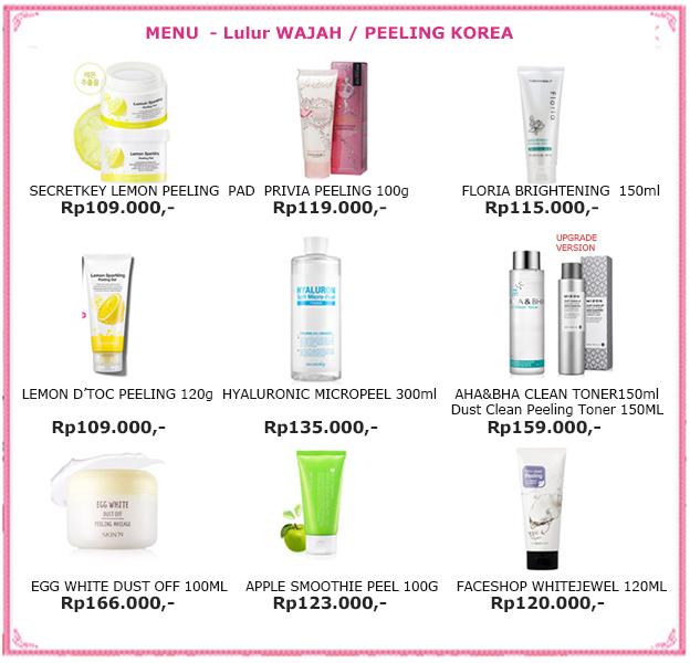 Jual Kosmetik Korea Murah -FREE ONGKIR