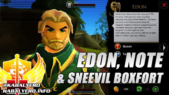 Edon, Note & Sneevil Boxfort » Let's Play AdventureQuest 3D #6 (STEAM Early Access)