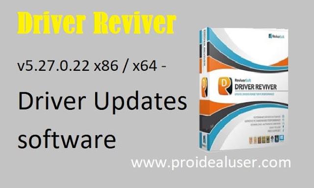 Driver Reviver v5.27 Driver Updater Software