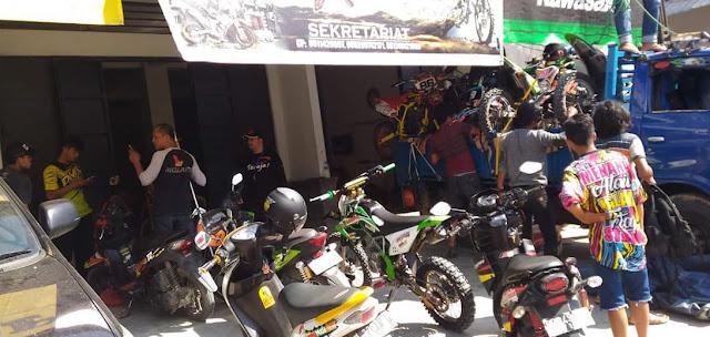 Pemda Tana Toraja Libatkan Komunitas Motor Trail untuk Salurkan Logistik di Sulteng