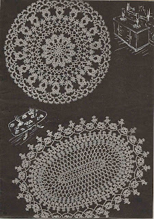 Vintage Tatted Doily Pattern