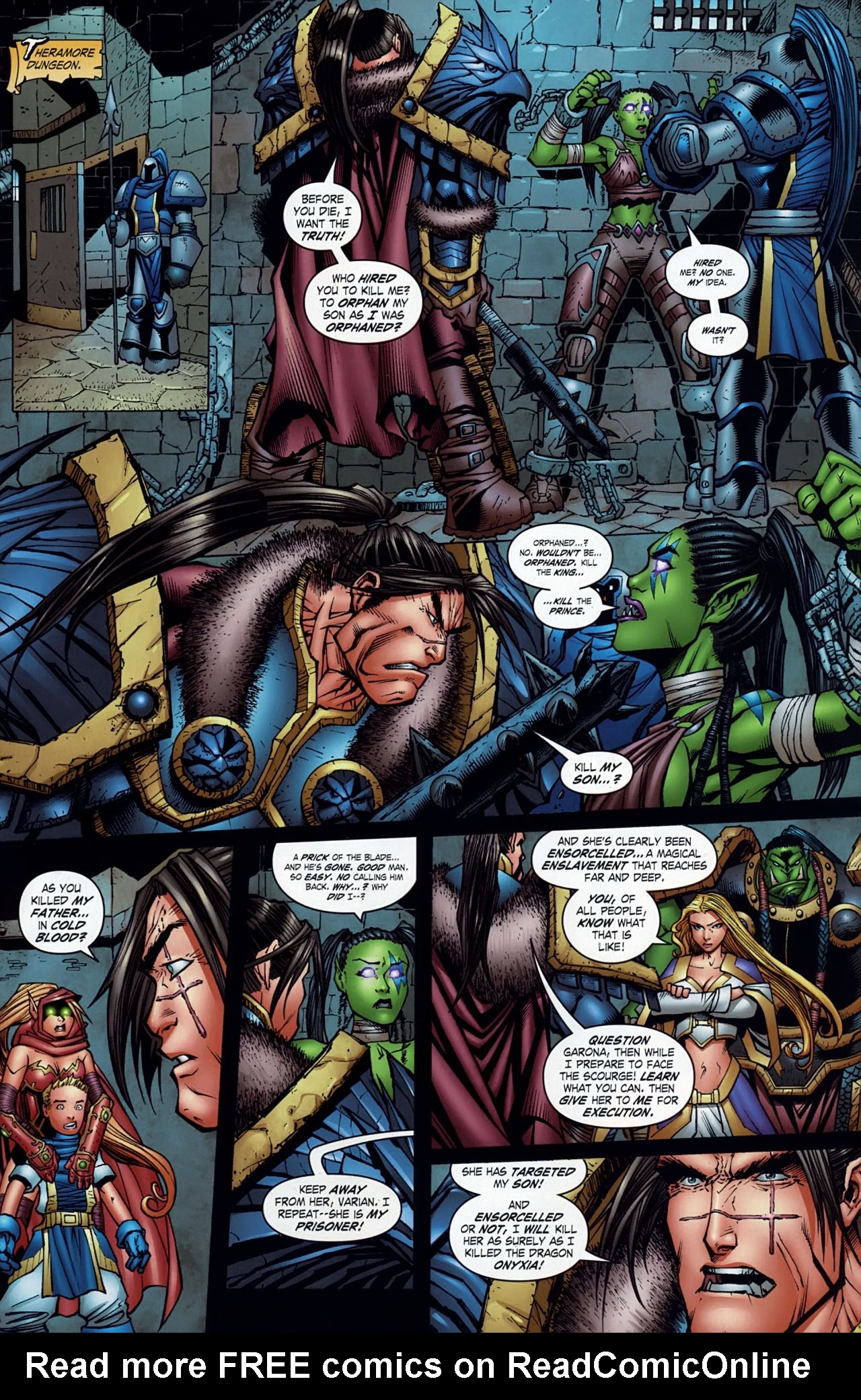 Read online World of Warcraft comic -  Issue #18 - 16