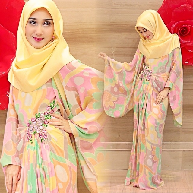 model jilbab tali belakang